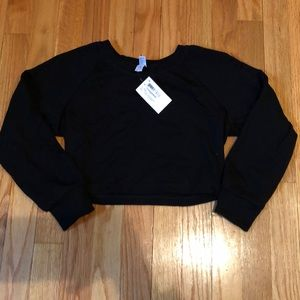 American Apparel Crop Top Sweater